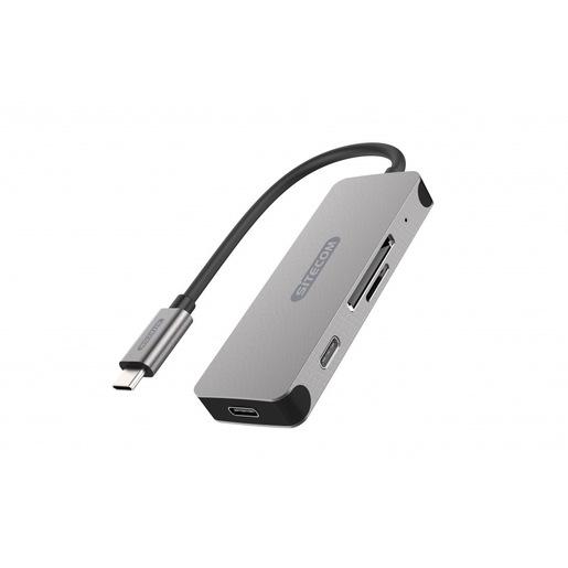 Sitecom CN 406 hub di interfaccia USB 3.2 Gen 1 (3.1 Gen 1) Type C 500