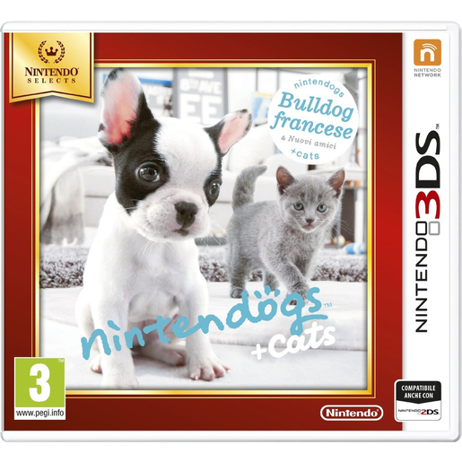 Image of Nintendo Nintendogs + Cats: Bulldog Francese