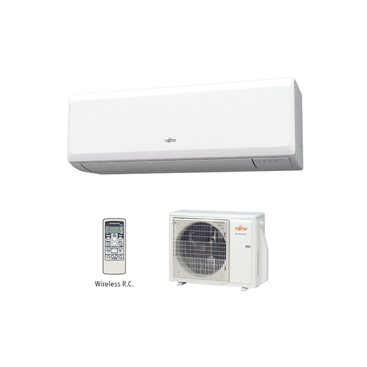 Image of Fujitsu ASYG12KPCA + AOYG12KPCA Climatizzatore split system Bianco