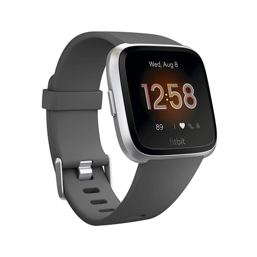 Image of Fitbit Versa Lite smartwatch Argento LCD 3,4 cm (1.34'')