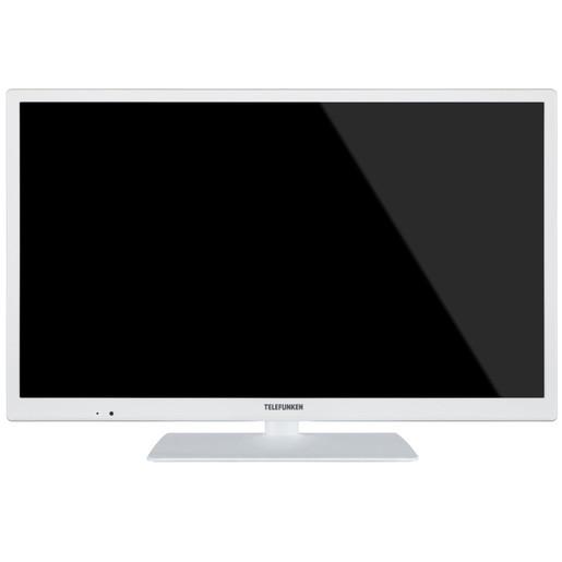 Image of Telefunken TE 24472 S27 YXBW 24'' HD bianco LED TV