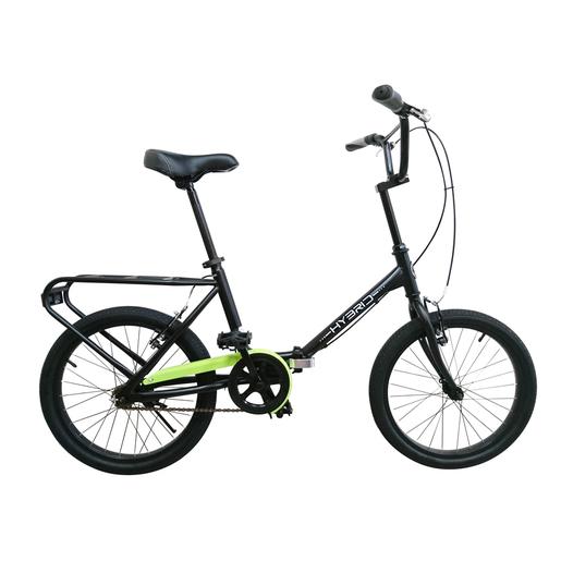 Image of BeBikes Hybrid K Città Acciaio Nero bicicletta