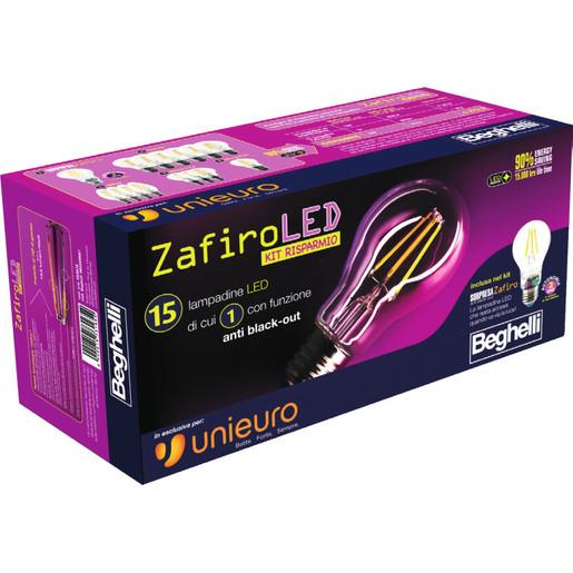 Image of Beghelli Zafiro LED - Kit risparmio