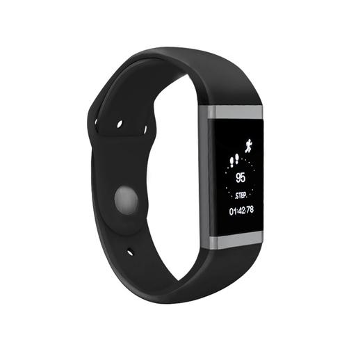 SBS GO LIFE WATCH Wristband activity tracker OLED Senza fili Nero