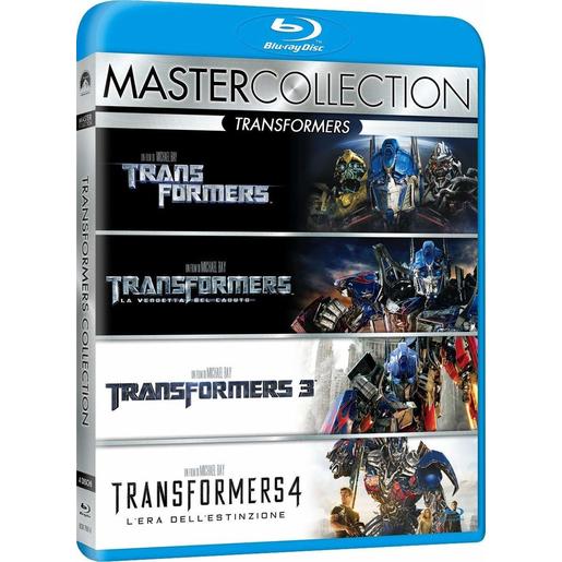 Image of Transformers Quadrilogia (DVD)
