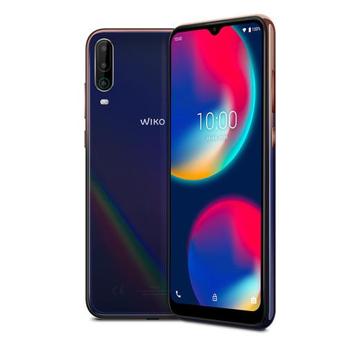 Wiko View4 16,6 cm (6.52'') 3 GB 64 GB Doppia SIM 4G Micro USB Blu Andr