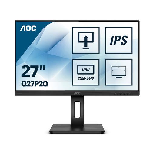 AOC Q27P2Q LED display 68,6 cm (27'') 2560 x 1440 Pixel Quad HD Nero