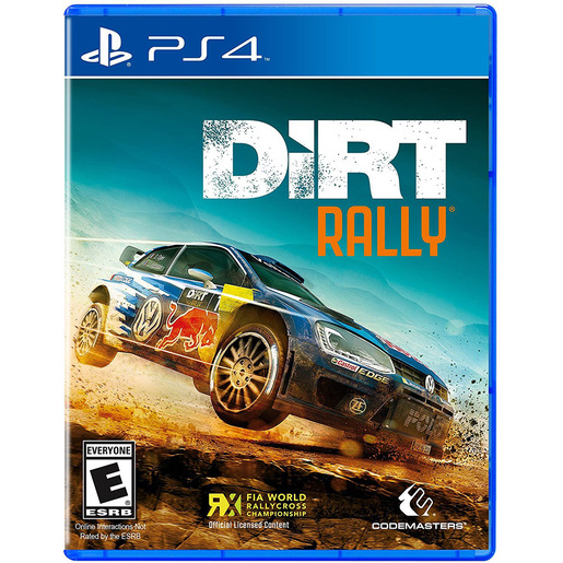 Image of Codemasters DiRT Rally, PS4 Basic Inglese PlayStation 4