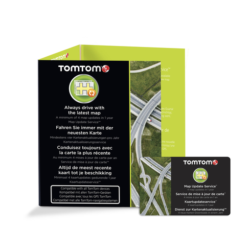 Image of TomTom Aggiornamento mappe 12 mesi - Scratch card