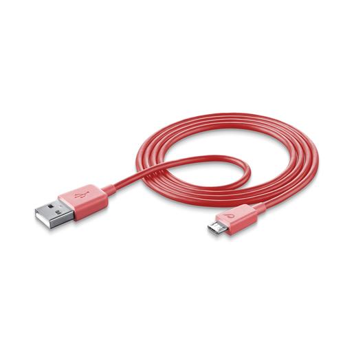 Cellularline Data Cable #Stylecolor - Micro USB Cavo per la ricarica e
