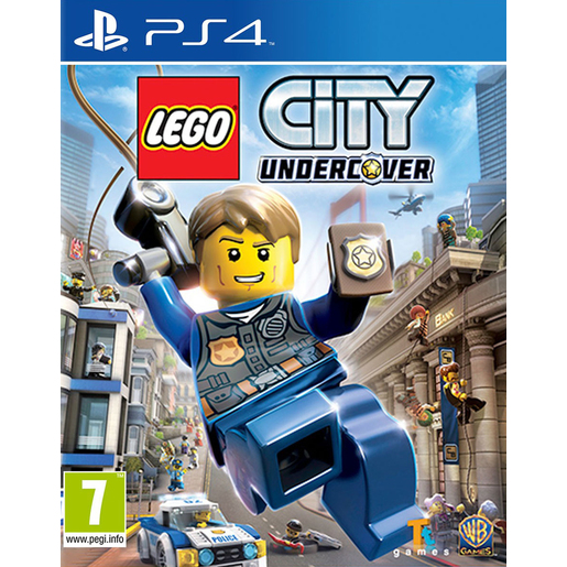 Image of LEGO City Undercover, Playstation 4 Basico PlayStation 4 Inglese video