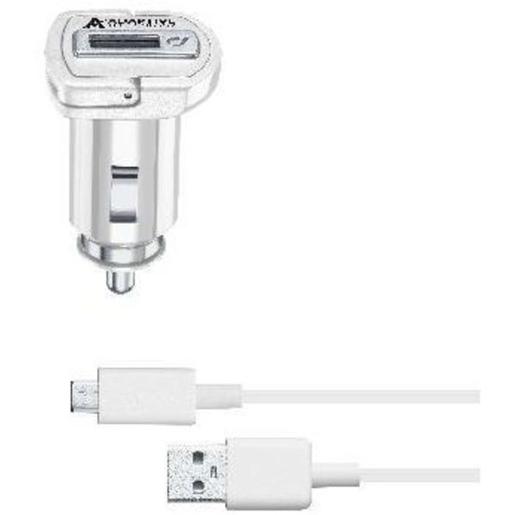 Cellularline CBRSMKIT15WMUSBW Auto Bianco caricabatterie per cellulari