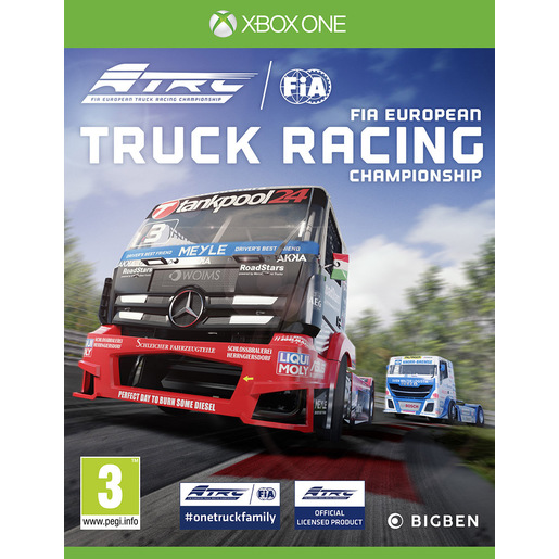 Image of Bigben Interactive FIA European Truck Racing Championship Basic Xbox O