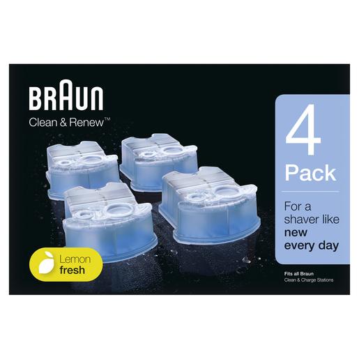 Braun BR CCR4 cartuccia ricarica clean e charge