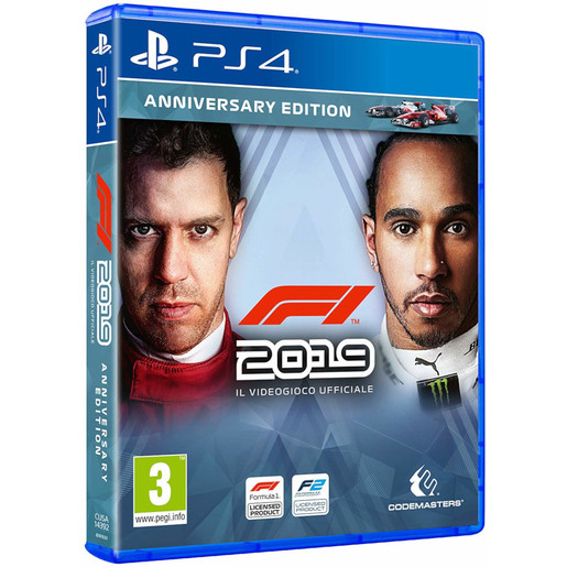 Image of F1 2019 anniversary edition - Playstation 4