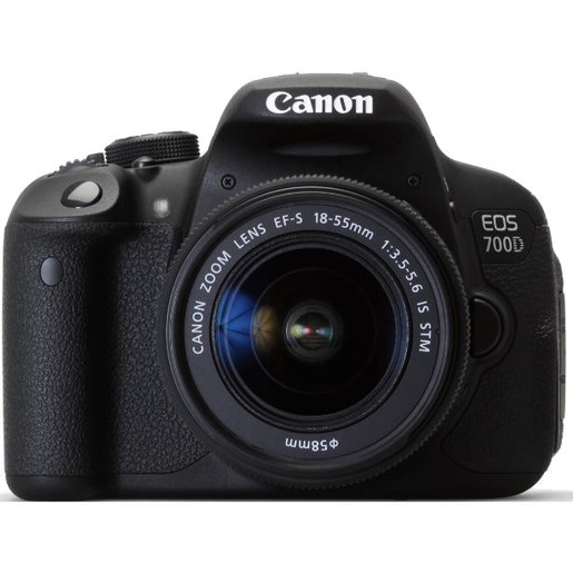 Image of Canon EOS 700D + EF-S 18-55mm Kit fotocamere SLR 18MP CMOS 5184 x 3456