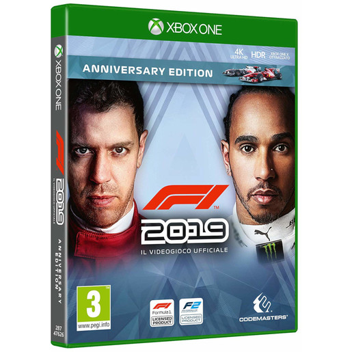Image of F1 2019 anniversary edition - Xbox One