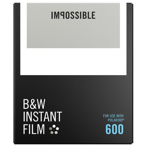 Image of Impossible B&W Film for 600 pellicola per istantanee 8 pezzo(i)