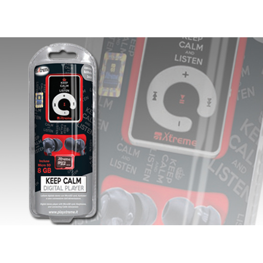 Image of Xtreme Lettore MP3 8 GB, nero