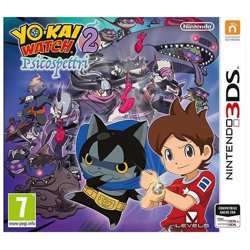 Yo-kai Watch 2: Psicospettri, 3DS