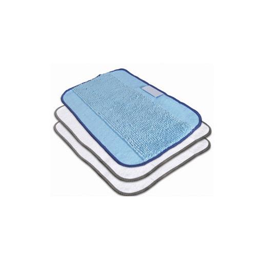 Image of iRobot 4409705 Strofinaccio Microfibra Blu, Bianco 3 pz