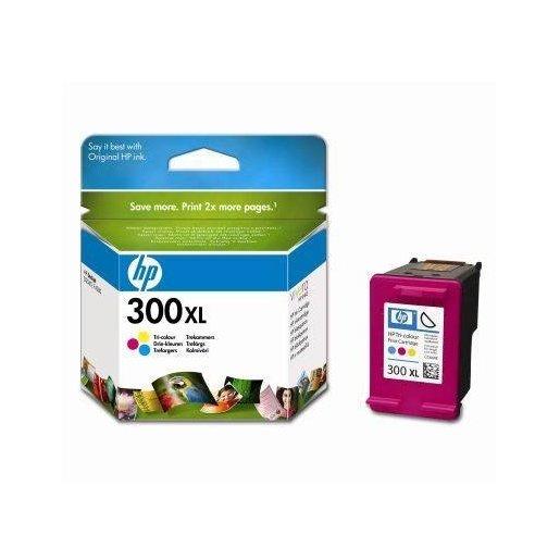 HP 300XL Tri color Ink Cartridge Original Ciano, Magenta, Giallo 1 pez
