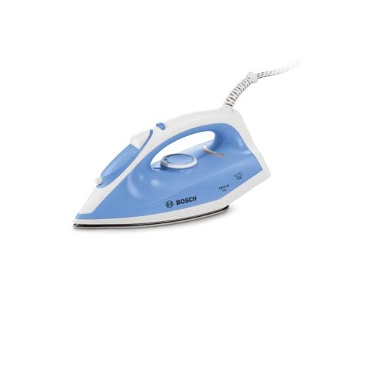 Image of Bosch TLB5000 ferro da stiro Ferro a secco Palladio Blu, Bianco 1300 W
