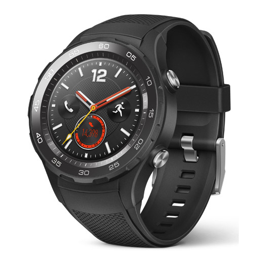 Huawei Watch 2 1.2'' AMOLED 40g 4G Nero smartwatch