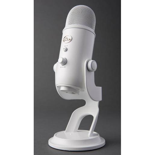 Image of Bluemic Yeti Whiteout PC microphone Cablato Bianco