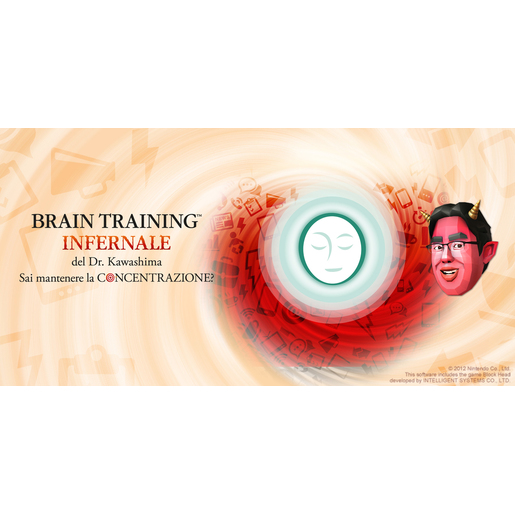 Image of Nintendo Brain Training Infernale Dott.Kawashima 3DS, videogioco