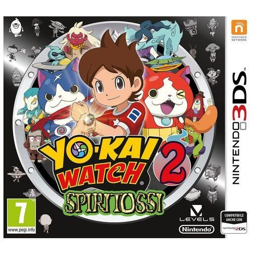 Image of        Yo-Kai watch 2: spiritossi - 3DS