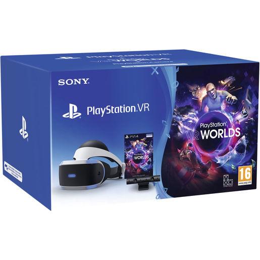 Image of Sony PlayStation VR ++ Camera + VR Worlds (voucher) Occhiali immersivi