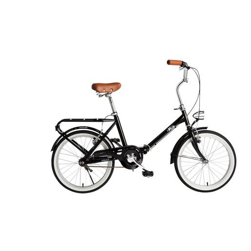 Image of BeBikes La Mia bicicletta Città Acciaio Nero