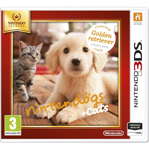 Image of Nintendo Nintendogs + Cats: Golden Retriever