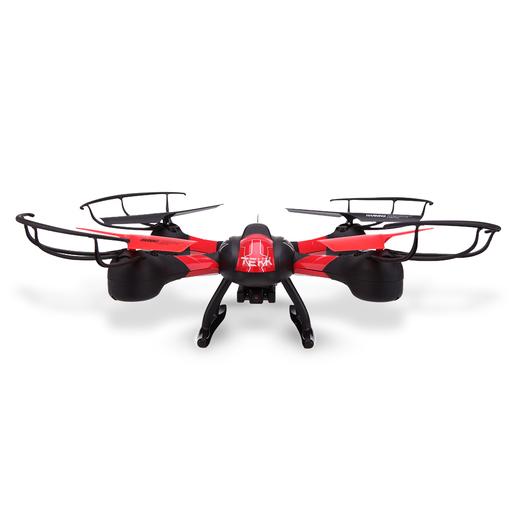 Image of TEKK HAWKEYE 4rotors 350mAh Nero, Rosso drone fotocamera