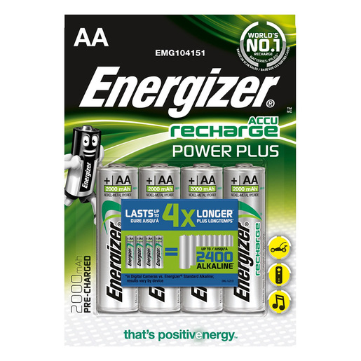 Image of Energizer 7638900249101 batteria per uso domestico Batteria ricaricabi