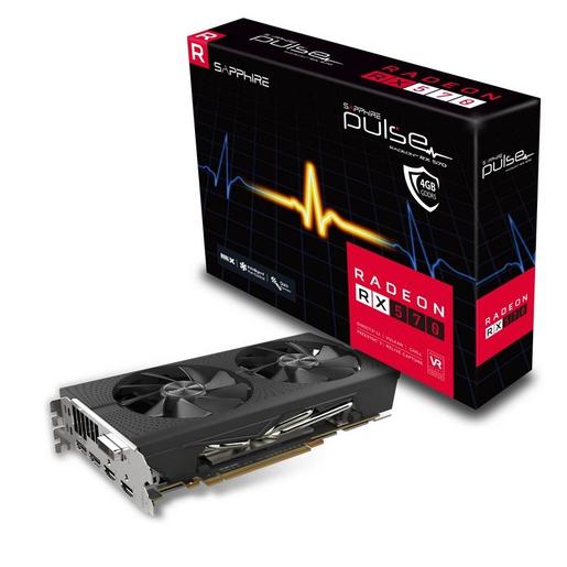Image of Sapphire 11266-67-20G scheda video Radeon RX 570 4 GB GDDR5