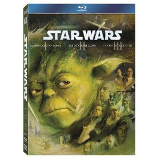 Image of Star Wars - trilogia prequel (Blu-ray)