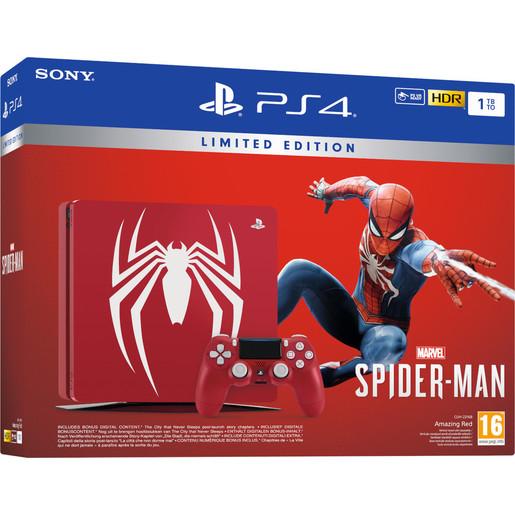 Image of Sony Playstation 4 1TB edizione limitata + Marvel's Spider-Man