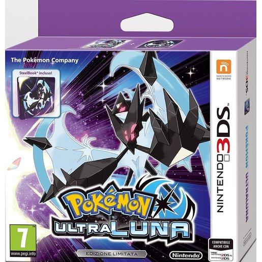 Pokémon Ultra Luna + steelbook - Nintendo 3DS