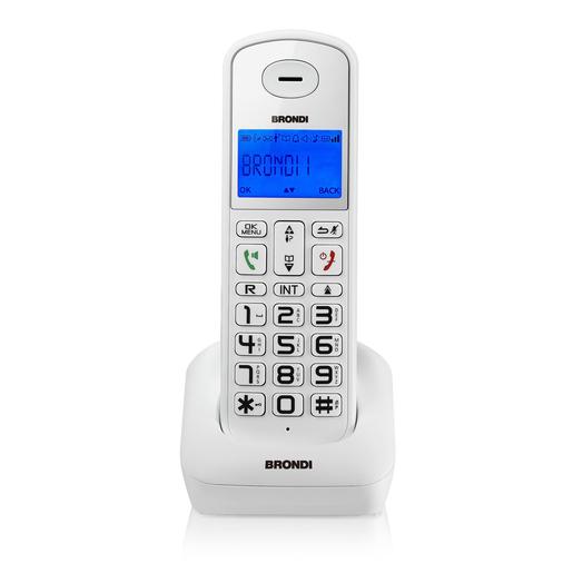 Image of Brondi Bravo Style DECT telefono cordless Bianco