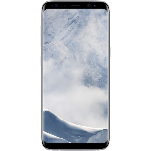 Image of Samsung Galaxy S8 4G 64GB Arctic silver smartphone