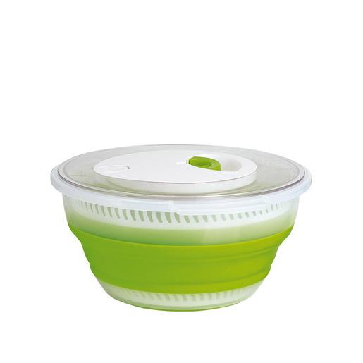 EMSA Basic centrifuga da insalata Pulsante Verde