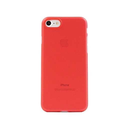 Image of Aiino AIIPH7CV-USRD Custodia per iPhone 7/8, Rosso