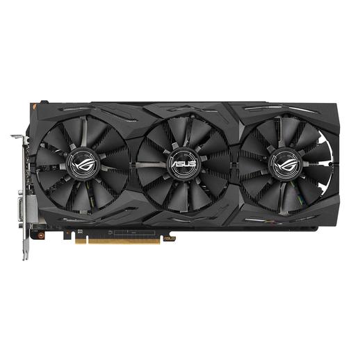 Image of ASUS ROG-STRIX-RXVEGA56-O8G-GAMING Radeon RX Vega 56 8 GB Memoria a ba