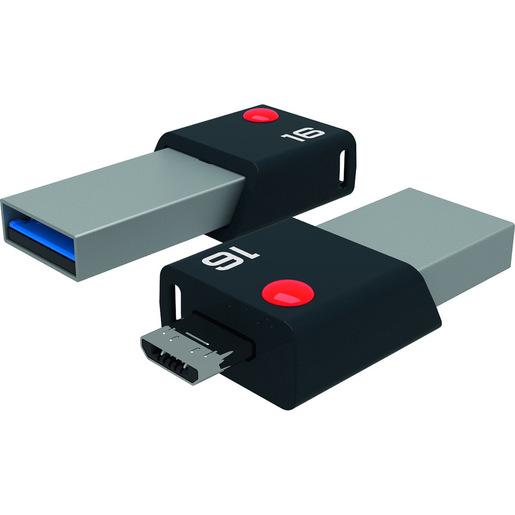 Emtec Mobile & Go 16GB unità flash USB USB Type A / Micro USB 3.2 Gen