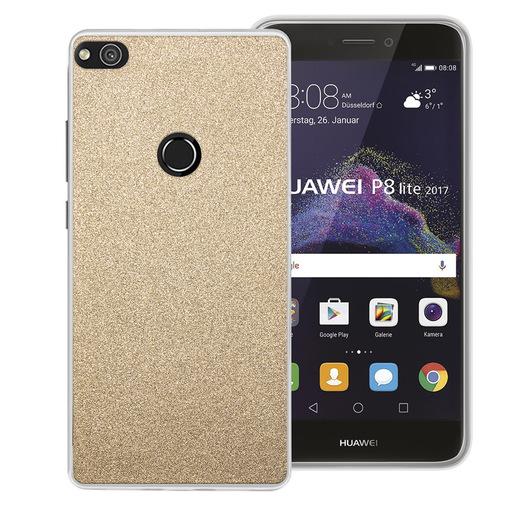Image of Phonix Cover Glitter per Huawei P8 Lite (2017) / Honor 8 Lite - Oro