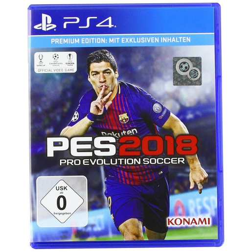 Pro Evolution Soccer 2018 Premium Edition, PS4 Premium PlayStation 4 I