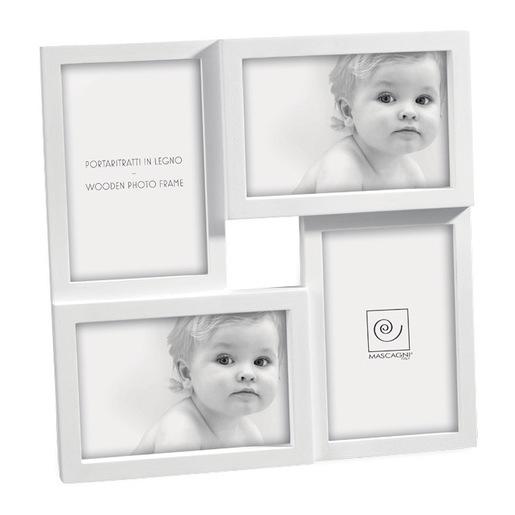 Image of Mascagni A141 Bianco Cornice per foto multipla