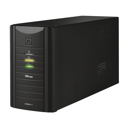Image of 1000VA UPS 2XWALLSCKT IT Black
